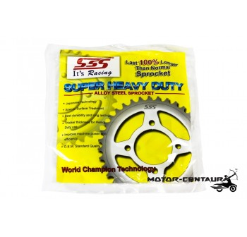 SSS CHAIN AND STEEL SPROCKETS DRIVE KIT 428 X 128L / 15T / 43T SUZUKI BELANG R150