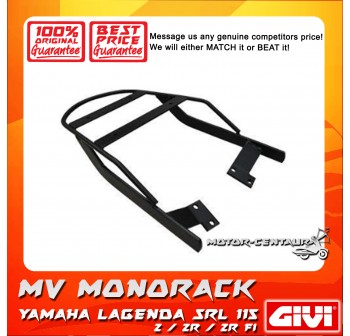 GIVI MONORACK MV YAMAHA SRL 115Z, 115ZR, 115ZR FI