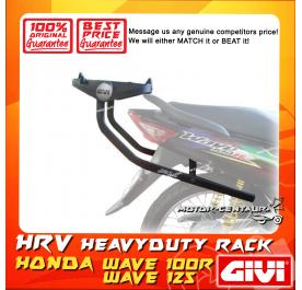 GIVI HEAVY DUTY RACK HRV HONDA WAVE 100R, 125