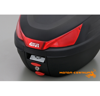 GIVI MONOLOCK TOP CASE (WITHOUT BRAKE LIGHT) CLACK B27N BLACK