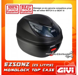GIVI MONOLOCK TOP CASE (WITHOUT BRAKE LIGHT) WILDCAT E250N2 BLACK