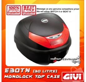 GIVI MONOLOCK TOP CASE (WITHOUT BRAKE LIGHT) TOUR E30TN BLACK