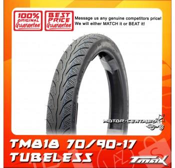TMAX TUBELESS TYRE TM818 70/90-17