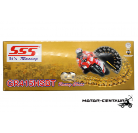 SSS GOLD RACING CHAIN GR415HSBT X 132L