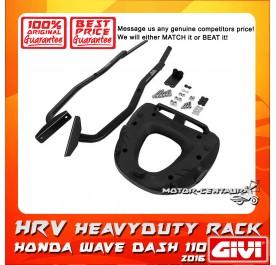GIVI HEAVY DUTY RACK HRV HONDA WAVE DASH  110 2013/2016 125 2018