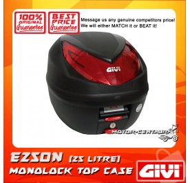 GIVI MONOLOCK TOP CASE (WITHOUT BRAKE LIGHT) WILDCAT E250N BLACK