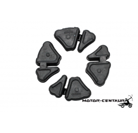 SUNOTO HUB RUBBER DAMPER SET HONDA WAVE 100 / WAVE 125 / DREAM