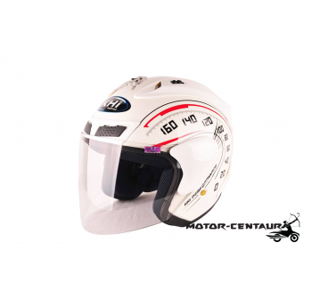 KHI HELMET RR FORCE X WHITE