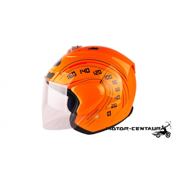 KHI HELMET RR FORCE X ORANGE