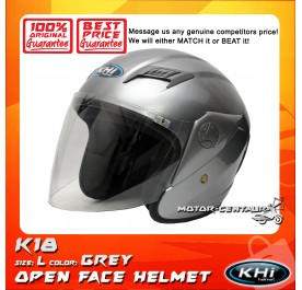 KHI HELMET K18 GREY