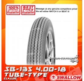 SWALLOW TUBE-TYPE TYRE SB-135 CLASSIC 4.00-18