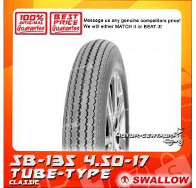 SWALLOW TUBE-TYPE TYRE SB-135 CLASSIC 4.50-17