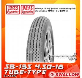 SWALLOW TUBE-TYPE TYRE SB-135 CLASSIC 4.50-18