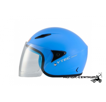 LTD VTEC JUNIOR VISOREX HELMET BLUE