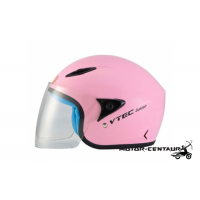 LTD VTEC JUNIOR VISOREX HELMET PINK