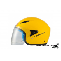 LTD VTEC JUNIOR VISOREX HELMET YELLOW