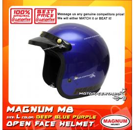 MAGNUM M8 HELMET DEEP BLUE PURPLE