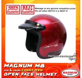 MAGNUM M8 HELMET CANDY RED