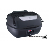 GIVI MONOLOCK TOP CASE (WITHOUT BRAKE LIGHT) E43NTL-ADV BLACK