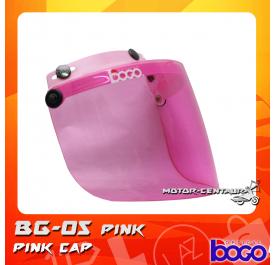 BOGO VISOR BG-05 PINK, PINK-CAP