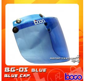BOGO VISOR BG-05 BLUE, BLUE-CAP