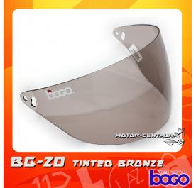 BOGO VISOR BG-20 (CRUISER) TINTED
