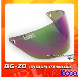 BOGO VISOR BG-20 (CRUISER) IRIDIUM RAINBOW