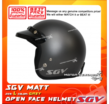 SGV HELMET MATT GREY