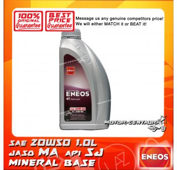 ENEOS MINERAL BASED 4T ENGINE LUBRICANT SAE20W50 MA 1L