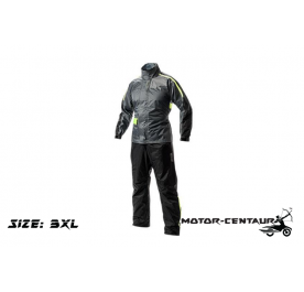 GIVI COMFORT RAINSUIT CRS01 3XL GREY-YELLOW