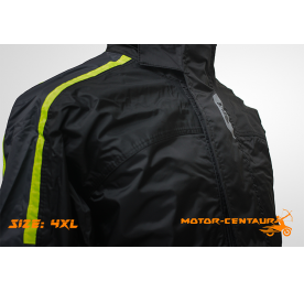 GIVI COMFORT RAINSUIT CRS01 4XL BLACK-YELLOW