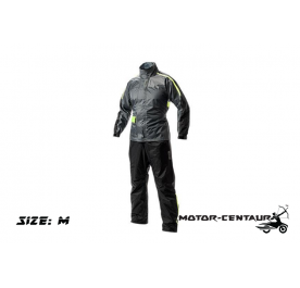 GIVI COMFORT RAINSUIT CRS01 M GREY-YELLOW