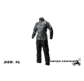 GIVI COMFORT RAINSUIT CRS01 XL GREY-YELLOW