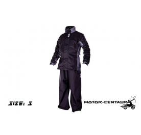 GIVI RIDER TECH RAINSUIT RRS07 S BLACK-GREY