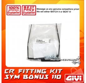 GIVI CENTRE CASE FITTING KIT CR SYM BONUS 110