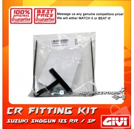 GIVI CENTRE CASE FITTING KIT CR SUZUKI SHOGUN 125RR/SP