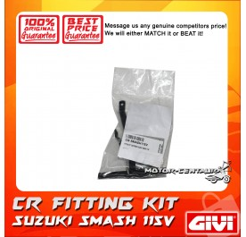 GIVI CENTRE CASE FITTING KIT CR SUZUKI SMASH 115V