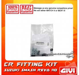GIVI CENTRE CASE FITTING KIT CR SUZUKI SMASH REVO 110