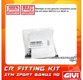 GIVI CENTRE CASE FITTING KIT CR SYM SPORT BONUS 110