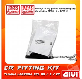 GIVI CENTRE CASE FITTING KIT CR YAMAHA LAGENDA SRL 110/Z/ZR