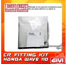 GIVI CENTRE CASE FITTING KIT CR HONDA WAVE 110