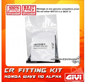 GIVI CENTRE CASE FITTING KIT CR HONDA WAVE 110 ALPHA