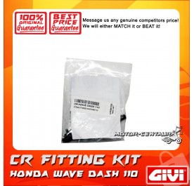 GIVI CENTRE CASE FITTING KIT CR HONDA WAVE DASH 110