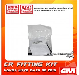 GIVI CENTRE CASE FITTING KIT CR HONDA WAVE DASH 110-13