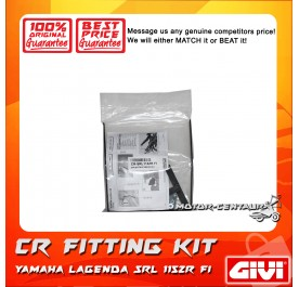 GIVI CENTRE CASE FITTING KIT CR YAMAHA LAGENDA SRL 115ZR FI / DEMAK DVS110
