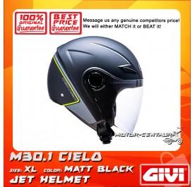 GIVI JET HELMET M30.1 CIELO XL MATT BLACK