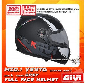 GIVI FULL FACE HELMET M50.1 VENTO L GRAPHIC DART GREY