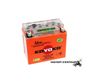 KOYOKO G2 NANOGEL BATTERY YTX12L-BS
