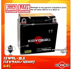 KOYOKO GEL BATTERY 12N9L-BS