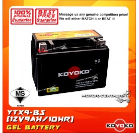 KOYOKO GEL BATTERY YTX9-BS